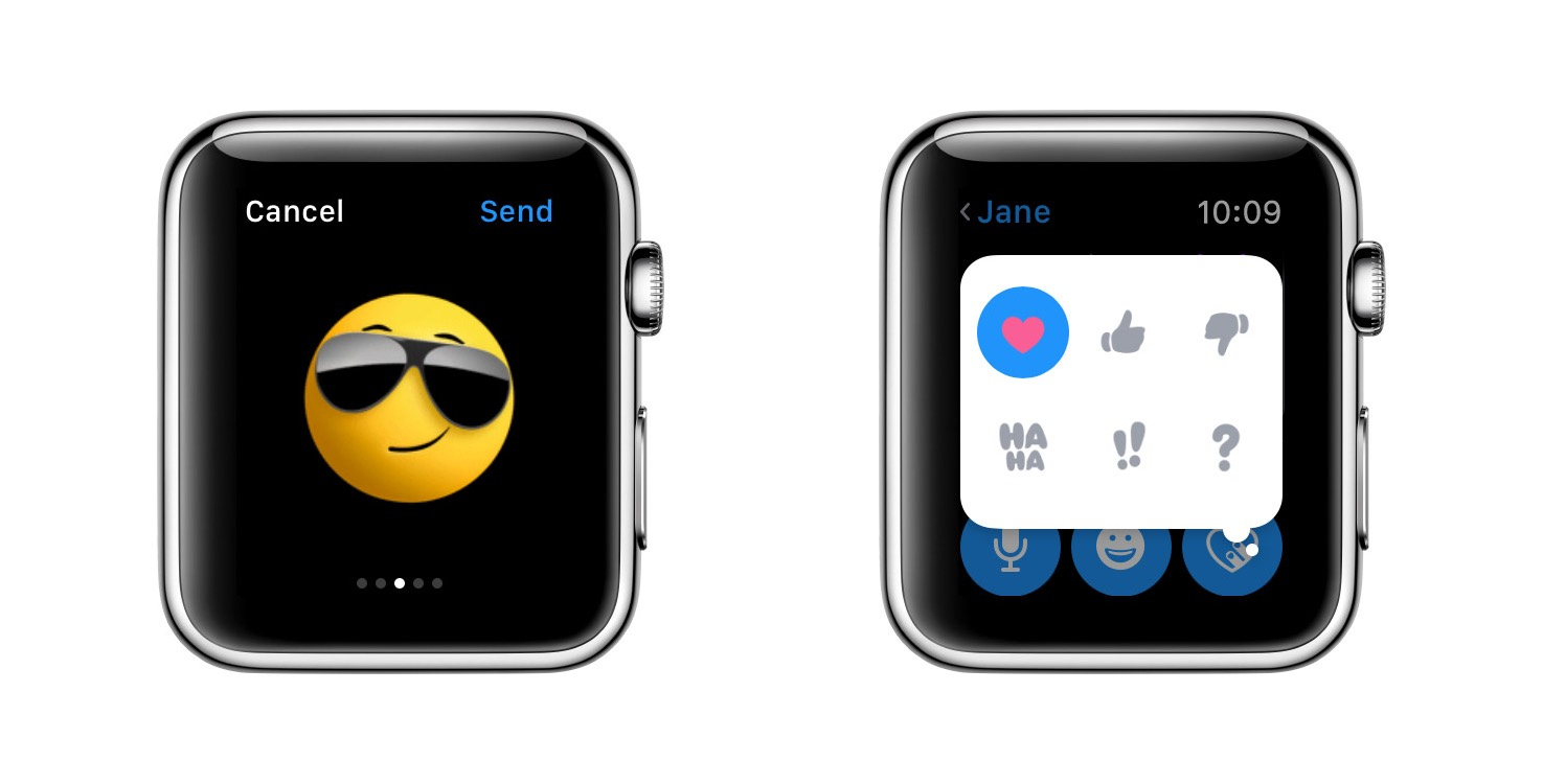 ⌚️ Apple Watch — Animated Emojis on watchOS
