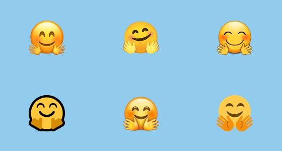 Smiley emoji hug Hug Emoticons
