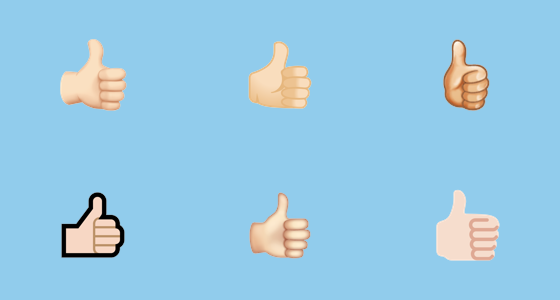 Thumbs what mean up the does emoji Thumbs Up