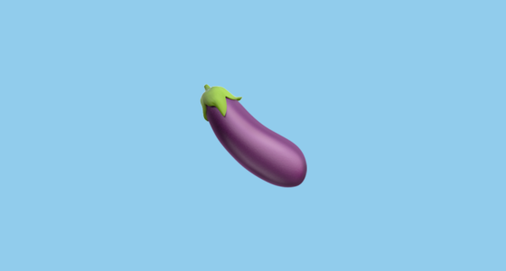 eggplant emoticon - photo #18