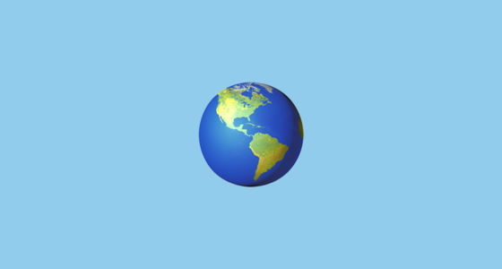 earth globe americas emoji sciox Image collections