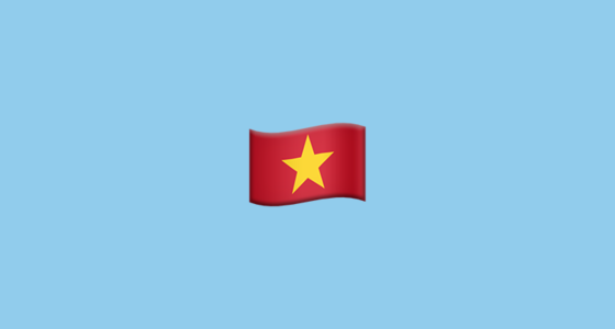 Flag For Vietnam Emoji