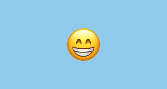 how to listen to podcasts on iphone grinning with smiling emoji 20144