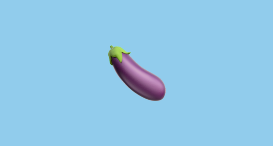 eggplant emoticon - photo #23