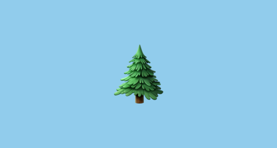 Christmas Tree Facebook Symbol