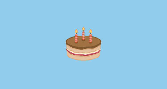 Birthday Cake Emoji on Facebook 21