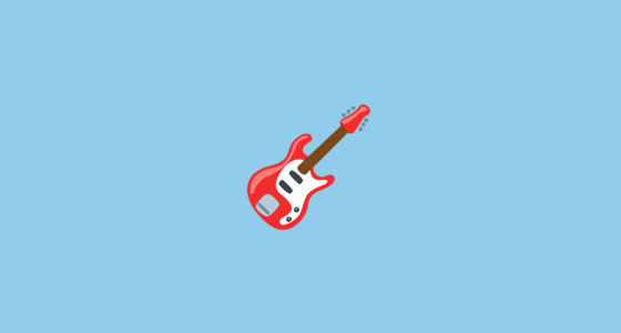 Guitar Emoji On Messenger 1.0