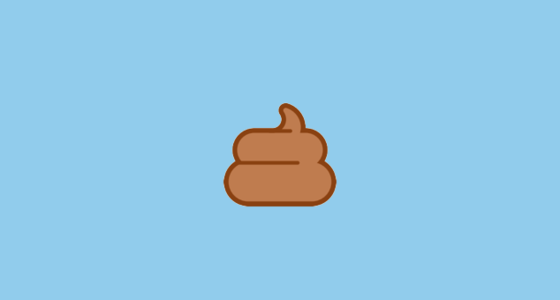 Pile Of Poo Emoji On Htc Sense 7