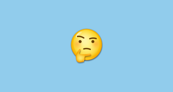 Thinking Face Emoji On Lg G5