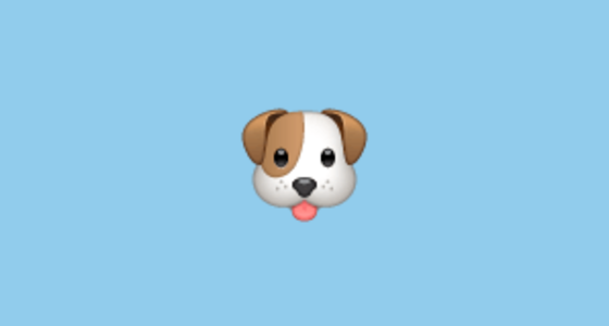 Dog Face Emoji on WhatsApp 2.17 - photo#21