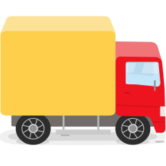 Delivery Truck on Skype Emoticons 1.2