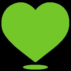 Heart tinder empty green A way