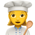Woman Cook on Apple iOS 11.1