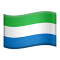 Sierra Leone on Apple iOS 11.1