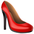 High-Heeled Shoe on Apple iOS 11.1