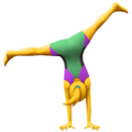 Woman Cartwheeling on Apple iOS 11.1