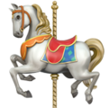 Carousel Horse on Apple iOS 11.2