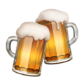 Clinking Beer Mugs on Apple iOS 11.2