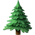 Evergreen Tree on Apple iOS 11.2