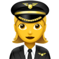 Woman Pilot on Apple iOS 11.2