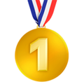 1st Place Medal on Apple iOS 11.2