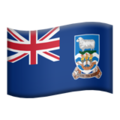 Falkland Islands on Apple iOS 11.2