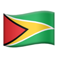 Guyana on Apple iOS 11.2