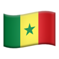 Senegal on Apple iOS 11.2