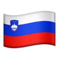 Slovenia on Apple iOS 11.2