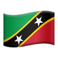 St. Kitts & Nevis on Apple iOS 11.2