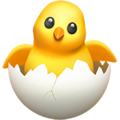 Hatching Chick on Apple iOS 11.2