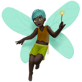 Man Fairy: Dark Skin Tone on Apple iOS 11.2