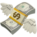 Money With Wings on Apple iOS 11.2