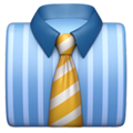 Necktie on Apple iOS 11.2