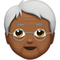 Older Adult: Medium-Dark Skin Tone on Apple iOS 11.2