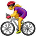 Woman Biking on Apple iOS 11.2