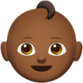 Baby: Medium-Dark Skin Tone on Apple iOS 11.3