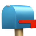 Closed Mailbox With Lowered Flag on Apple iOS 11.3