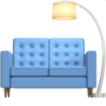 Couch and Lamp on Apple iOS 11.3