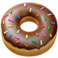 Doughnut on Apple iOS 11.3
