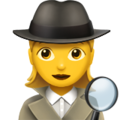Woman Detective on Apple iOS 11.3