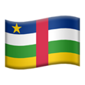 Central African Republic on Apple iOS 11.3