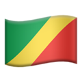 Congo - Brazzaville on Apple iOS 11.3