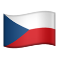 Czechia on Apple iOS 11.3