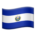 El Salvador on Apple iOS 11.3
