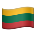 Lithuania on Apple iOS 11.3