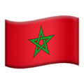 Morocco on Apple iOS 11.3