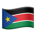 South Sudan on Apple iOS 11.3