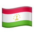 Tajikistan on Apple iOS 11.3