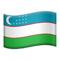 Uzbekistan on Apple iOS 11.3